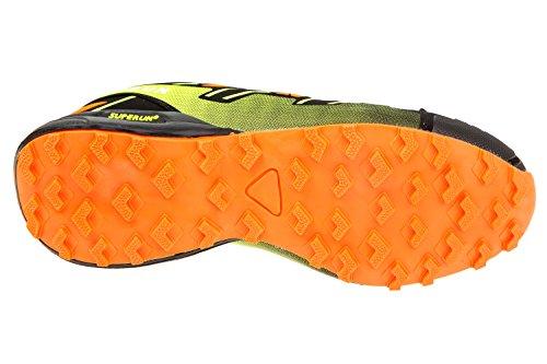 gibra , Chaussures de course pour homme neonorange/neongelb