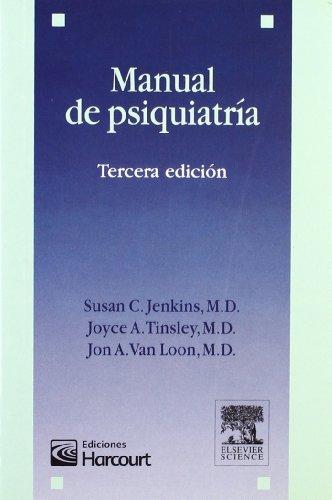 Manual de psiquiatría por S.C. Jenkins