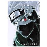 KroY PecoeD Póster Anime de Naruto Kakashi para Colgar