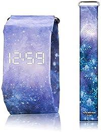 OOOUSE Reloj de Papel Creativo, Super Ligero, Durable, visualización de Fecha, Impermeable, Reloj de Pulsera Fresco