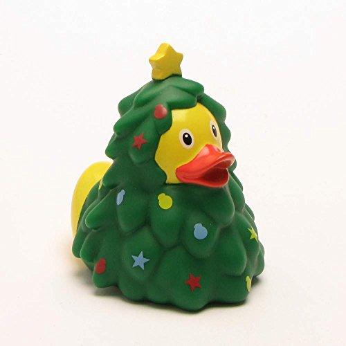 LiLaLu Badeente Gummiente Ente Duck Schwimmente Winter Weihnachten Sammeln: Art: Weihnachtsbaum Ente