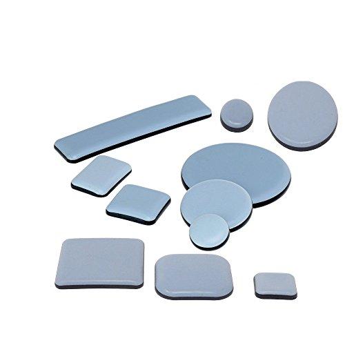 Teflongleiter | selbstklebend | rund Ø 30mm | 20 Stück | für Stühle, Tisch und Schränke - 30 Runden Tisch