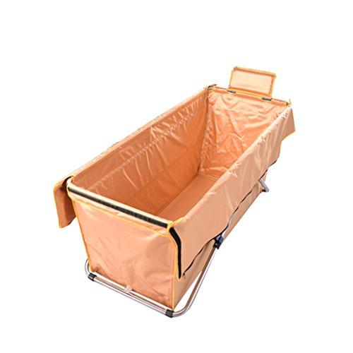 WEBO Home- Faltbare Badewannen-Erwachsene Badewannen-Faß-Verlängerungen verdicken Bad-Isolierung warm (Farbe : D)