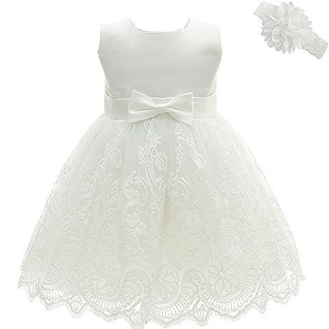 AHAHA Baby Prinzessin Brautkleider Taufe Taufe Baby Kleid
