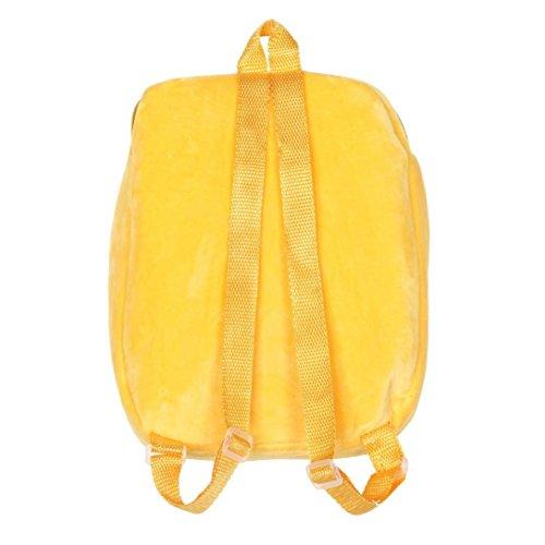 Schulranzen, VJGOAL Kind niedlich Emoji Emoticon Schulter Schultasche Satchel Rucksack Handtasche Mini Klein Rucksack H