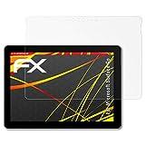 atFolix Schutzfolie kompatibel mit Microsoft Surface Go Bildschirmschutzfolie, HD-Entspiegelung FX Folie (2X)