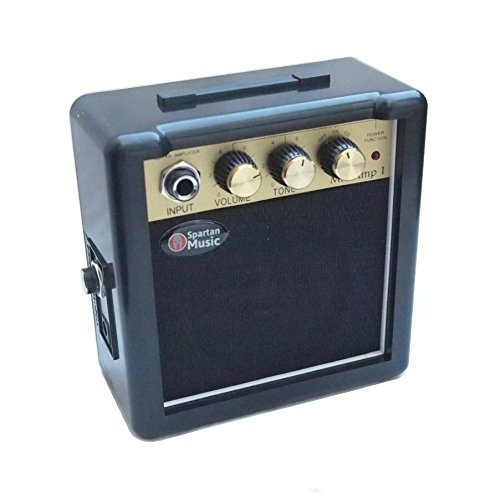 Mini Amplifier for Electric Guitar that Works with Batteries