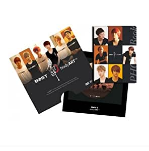 Kpop DVD, BEAST (B2ST) - BODY ART [DVD [Region Code : All] + Photobook + Postcard + FREE GIFT (Folded Poster + Softbay Mask Pack Sheet)