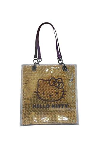 Bonjour Kitty Gold & Violet Petit sac à main brillant Sequinned