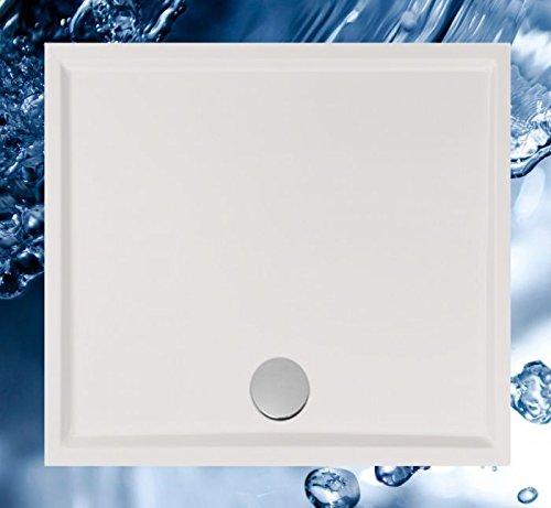 duschwanne 110x100 Duschbecken 1100x1000 mm bzw. 1000x1100 mm flach/Duschwanne 110x100 cm bzw. 100x110 cm