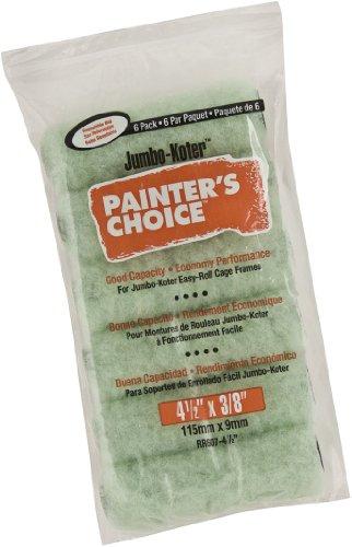 Wooster Pinsel Maler Wahl Roller 3/8Zoll Nap, 6er Pack, RR607-4 1/2 -
