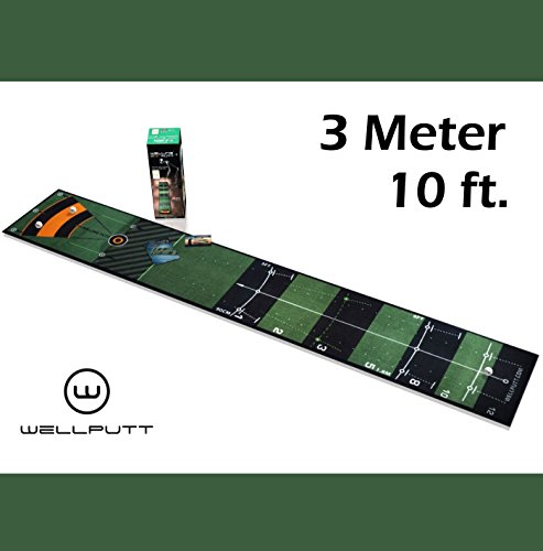 Welling – L'original de Well Putt Putt Tapis de putting 3 mètres | 300 x 50 cm