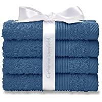 Catherine Lansfield Home asciugamani, confezione da 4,
