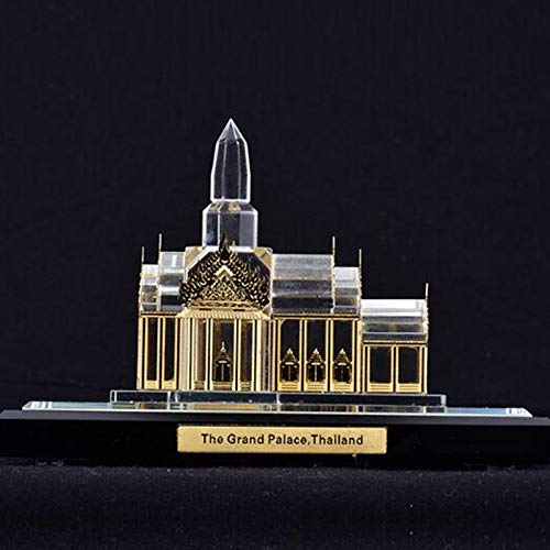 Deutsche National Kostüm - DDCYY Statue/Skulptur, KöLner Dom Architekturmodell, Deutsches Wahrzeichen Dekoratives Modell, Kristallstatue, Desktop Collection, Tourist Souvenir (12x8,5x10,7cm)