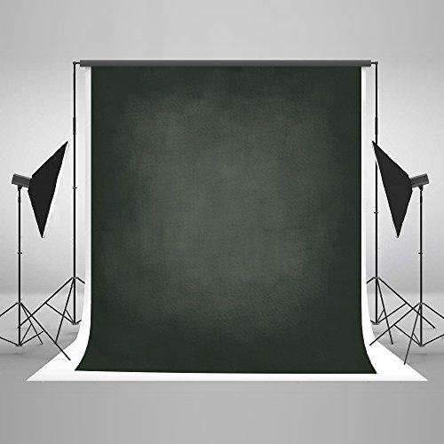 KateHome PHOTOSTUDIOS 1,5x2,2m Dunkelgrün Hintergrund Abstrakte Fotografie Kulisse Microfaser Backdrop für Fotograf Foto Studio