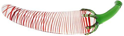 GlassIntimo Glasdildo HIROKO der Scharfe Dildo 22*5cm