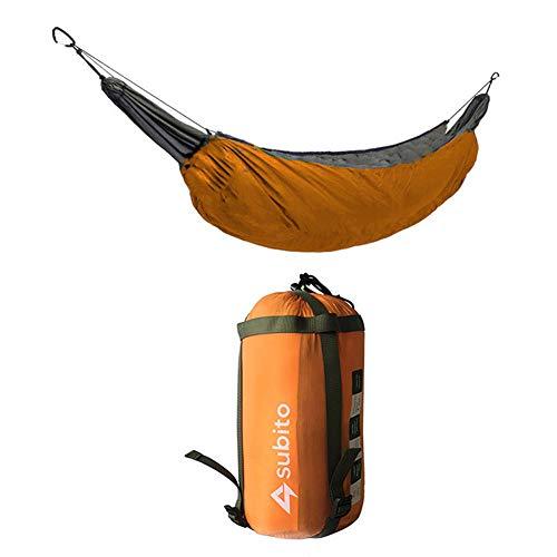 YGQersh Sac de Couchage Hamac Camping Couverture Légère Ultralight Isolation - Orange