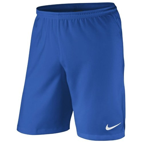 Nike-basketball-shorts-blau (NIKE Herren Shorts ohne Innenslip Laser II Woven University Blue/White, XL)