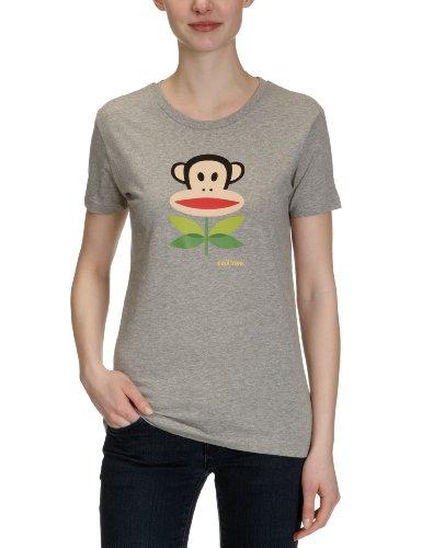 Paul Frank Julius Fleur Femmes-T-Shirt gris - Gris