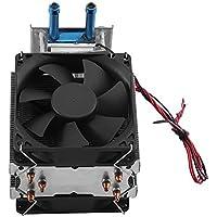 Refrigerador Termoeléctrico Refrigerador de Semiconductor 12V Refrigerador de Agua Termoeléctrico de Peltier Dispositivo de DIY con Ventilador
