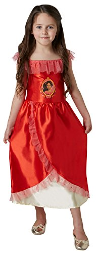 Elena de Avalor - Disfraz, talla L, color rojo (Rubie's Spain 630038-L)