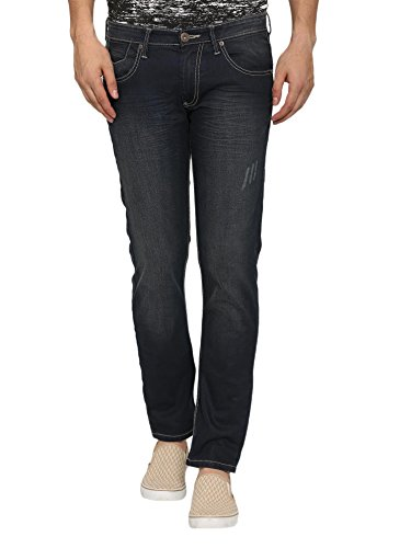 abof Men Navy Slim Fit Stretchable Jeans  available at amazon for Rs.507