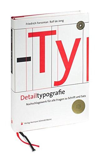 Detailtypografie: Nachschlagewerk für alle Fragen zu Schrift und Satz Buch-Cover