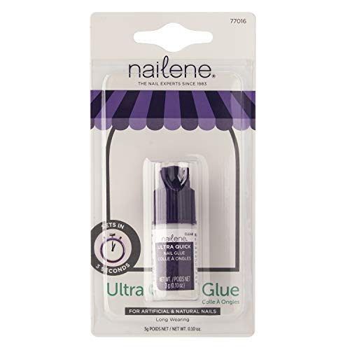 Nailene Ultra Rapide Colle pour ongles 3 g Transparent