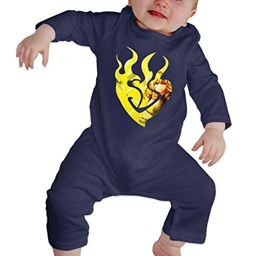 Junioren Long Sleeve Thermal (Bodys für Baby Lange Ärmel Baby Cotton Romper Jumpsuits Long Sleeve Yang Xiao Long Poster Unique Design Newborn Sleepsuit Gift)