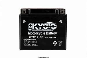 Batterie Moto KYOTO Ytx12-bs - Ss Ent. Acide L 150mm W 87mm H 131mm 12v 10ah Acide 0,6l