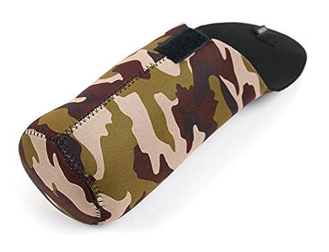 Etui camouflage néoprène résistant pour transporter votre enceinte OontZ Angle, Photive CYREN Simple, Sony SRS-X2/BLK, SRS-X2 NFC, SRS-X3 NFC et