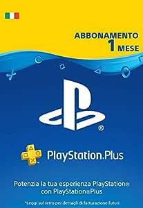 PlayStation Plus Abbonamento 1 Mesi | Codice download per PSN - Account italiano