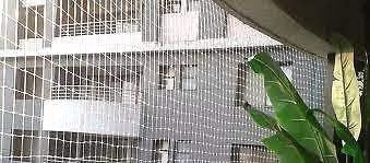 DJA Anti Bird Nylon Thick Net (White, 10Ft by 5Ft)