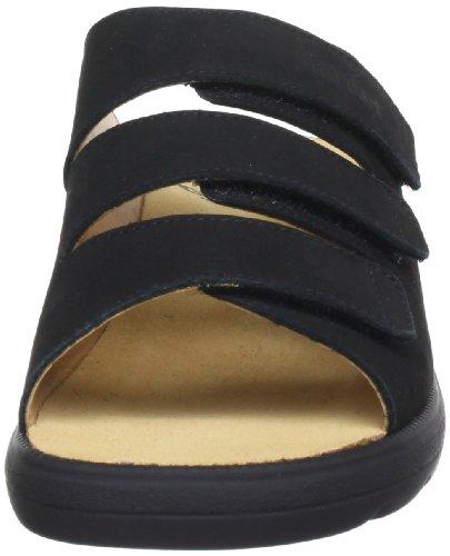 Ganter Selina, Weite F 5-202902-01000 Damen Clogs & Pantoletten Schwarz (schwarz 0100)