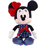 Posh Paws International Disney I Love Minnie - Peluche de Minnie (25,4 cm), color azul marino