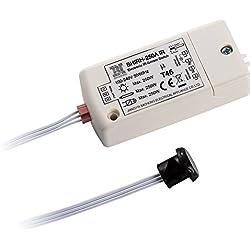 Interruptor infrarrojo del sensor BHIRH-250A voltaje dual 100-240V luces inteligentes interruptor de detección de movimiento 5-10cm usado fuera del gabinete,trabajando a mano que se movía,Max.70W LED