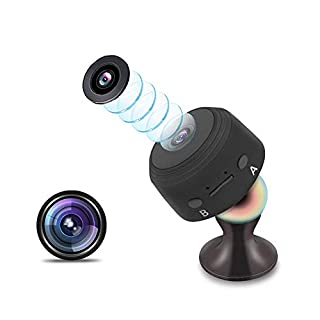 Hidden Camera,1080P HD Home Security Mini Nanny Spy Camera with Monitoring Motion 120° Wide Angle Night Vision Video Recorder