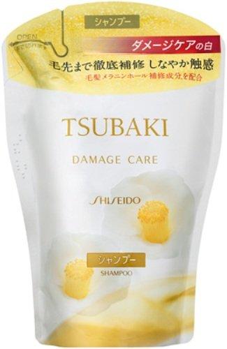 Shiseido Tsubaki Damage Care Shampoo 400ml - Refill