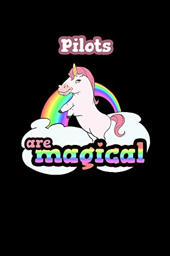 Pilots Are Magical: 120 Lined Pages Journal Notebook - 6