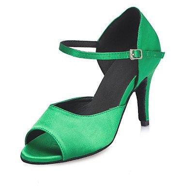Scarpe da ballo latino Green
