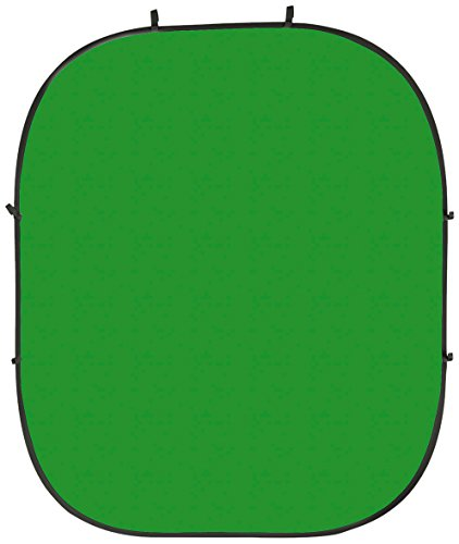 PhotoSEL BD123GU Greenscreen/Bluescreen, Chroma Key, wendbar/doppelseitig, faltbar, 2 m x 2,4 m,