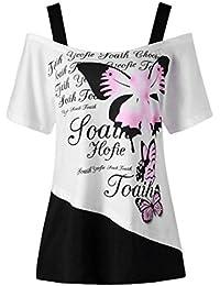 LAND-FOX Mujer Blusa | Mujer Ropa | Mujer Sexy Vestidos Chaleco Camisetas | Vestidos De Fiesta Mujer | Tops Mujer…
