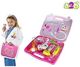 A2B Battery Operated Doctor's Kit with Light Sound Effects, Multi Color