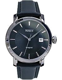 LIV MORRIS PARNIS MIYOTA Modell 3214 0732066354253 - Reloj para hombres color negro