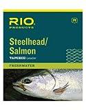 Rio Vorfach für Fliegenfischen, Lachs/Stahlkopf, 3,7 m, 4,6 kg, Glacial Green