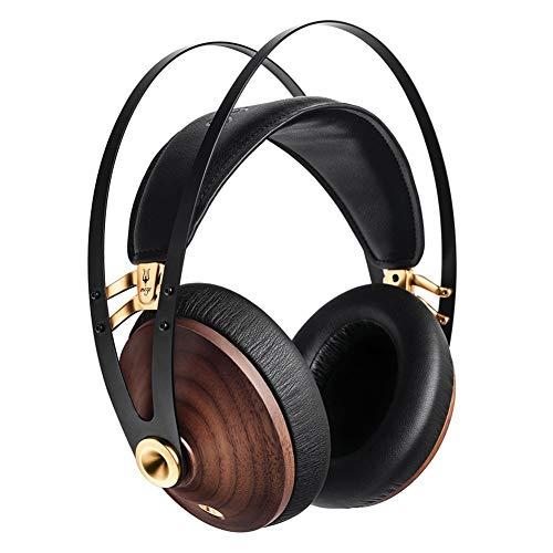 Meze 99 Classics Walnut Gold Audiophiler Over-Ear Kopfhörer, hochwertigen Materialien und hohem Walnut Gold