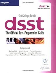 DSST The Official Test Preparation Guide by Peterson's (2001-02-24)