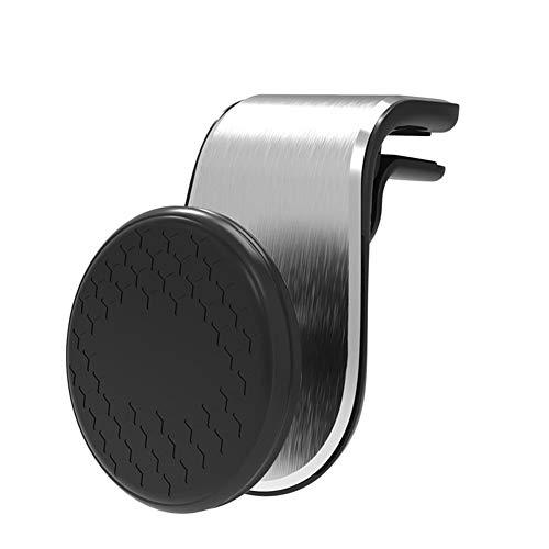 Shaoyao Handyhalter Fürs Auto, Magnet KFZ Handyhalterung mit Magnetischen Für iPhone, Samsung, Huawei Silber 02