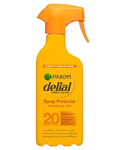 Garnier delial spray protezione solare spf 20 - 300 ml