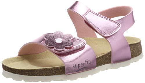 Superfit Mädchen Fussbettpantoffel Pantoffeln, Pink (Rosa 56), 29 EU
